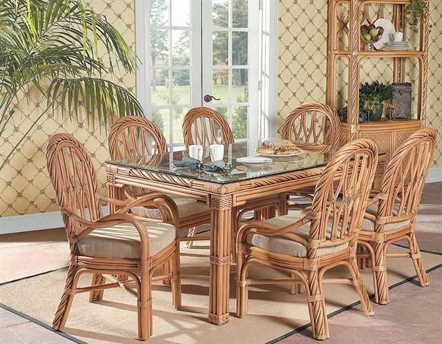rattan dining room sets