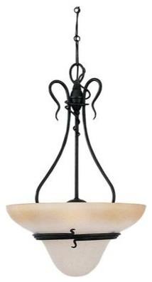 Gray    Up Pendant contemporary-pendant-lighting