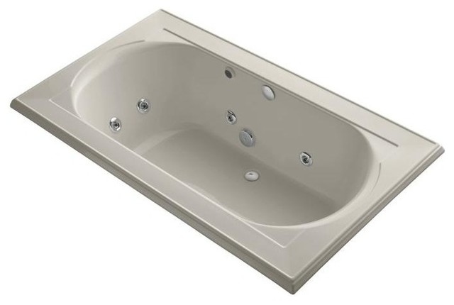 Kohler Jetted Bathtubs Memoirs 6 Ft Whirlpool Tub In