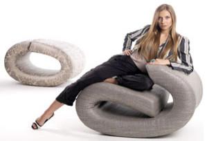 Eklipse Designer Lounge Chair by BRF modern-living-room-chairs