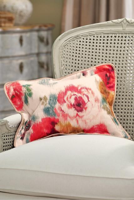Floral Boudoir Pillow traditional-decorative-pillows