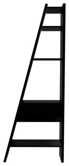 Delta Composition New W/ Backs 2010-001, Pure Black modern-bookcases
