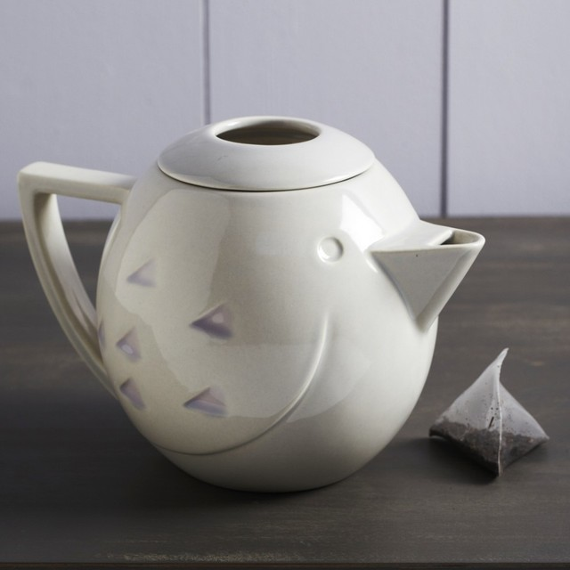 Ceramic Bird Teapot Modern Teapots By Graham And Green