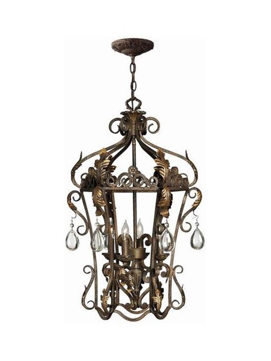 Hinkley Lighting - 4 Light Foyer Pendant -