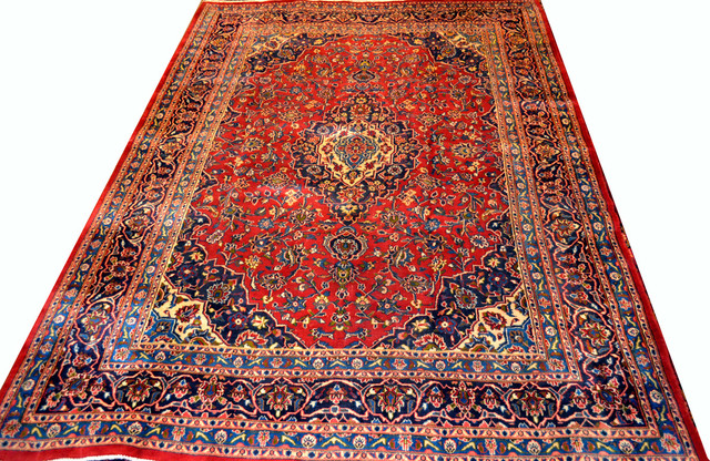 Large Area Rug - 9x12-10x13 traditional-rugs