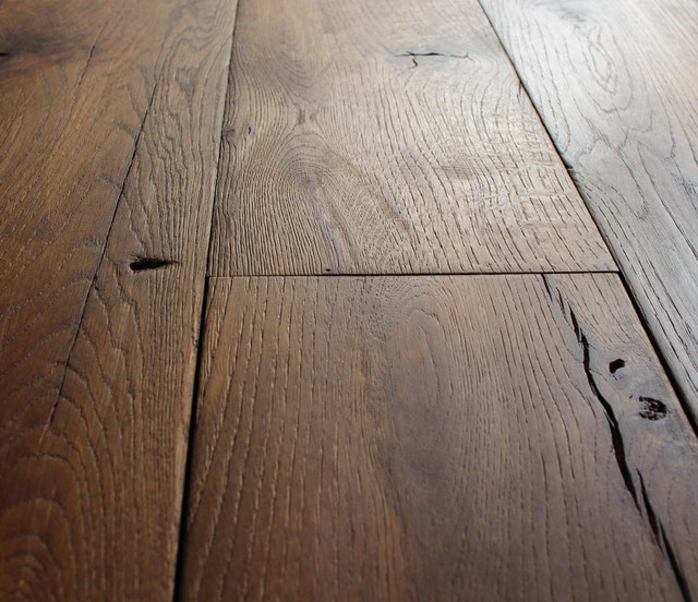 Reclaimed French Oak Wide Planks Mediterranean