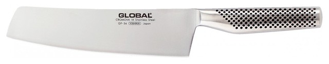 """Global GF Series HW Vegetable Knife, 8"""" contemporary-kitchen-knives-and-accessories"""