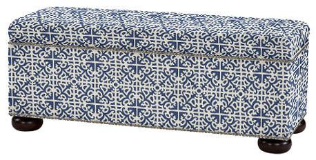 Mediterranean Accent And Storage Benches by Ballard Designs