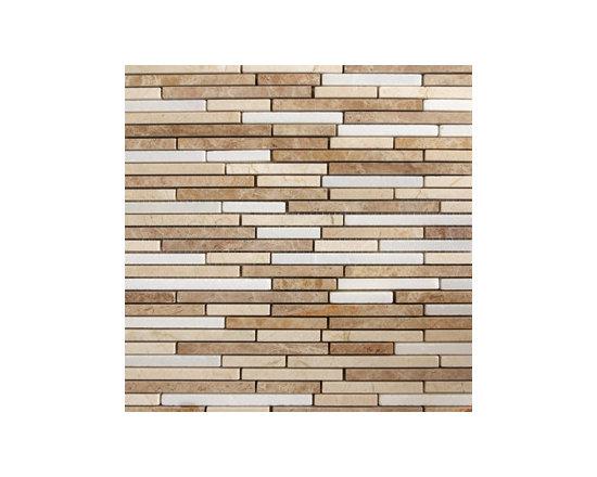 Bond Light Natural Stone Mosaic -