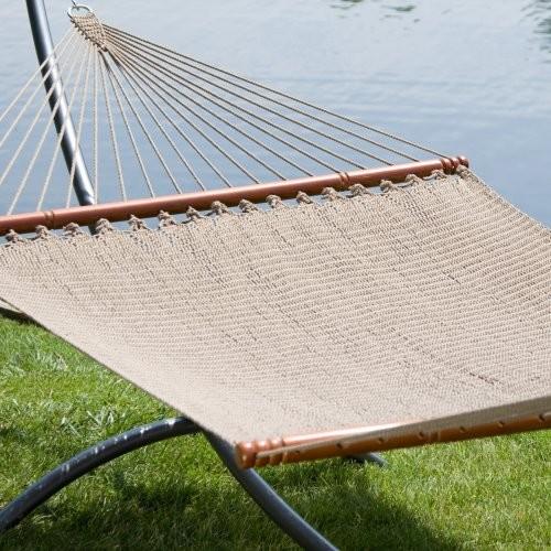 Caribbean Style Rope Hammock contemporary-hammocks