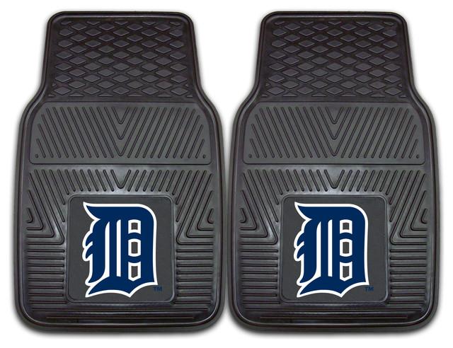 Fanmats Detroit Tigers 2-piece Vinyl Car Mats contemporary-bath-mats