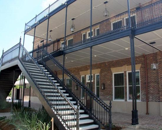 Walnut Grove Cast Iron Railings -