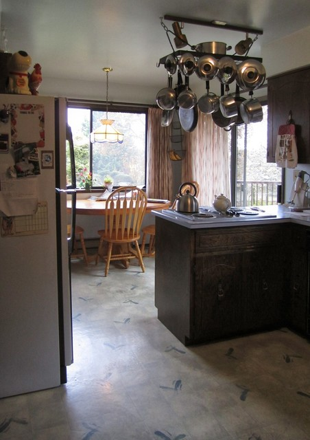 South Saanich/Gorge Kitchen Renovation traditional