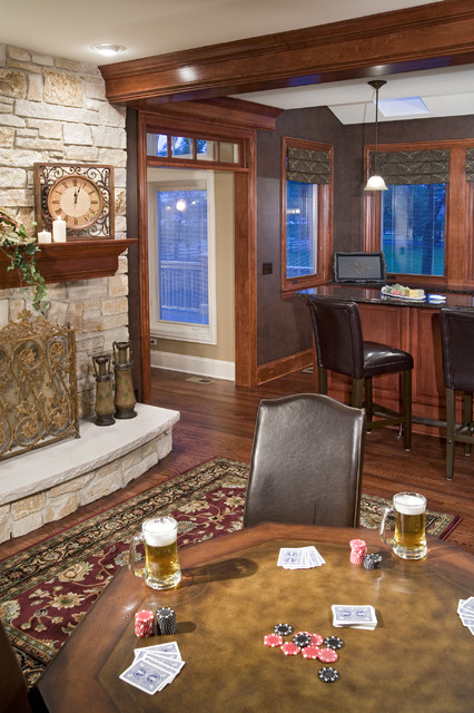 The Cabinetry Boutique traditional-home-bar