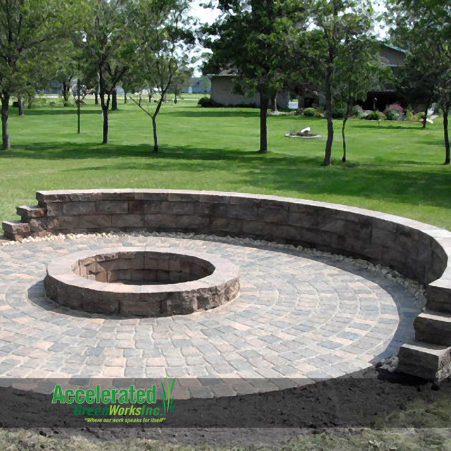 fire pit design ideas traditional patio other metro by