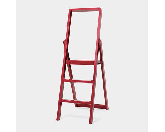 'Step' Ladder, Red -