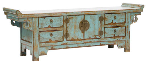 Low Sideboard rustic-buffets-and-sideboards
