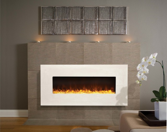 Electric modern-fireplaces