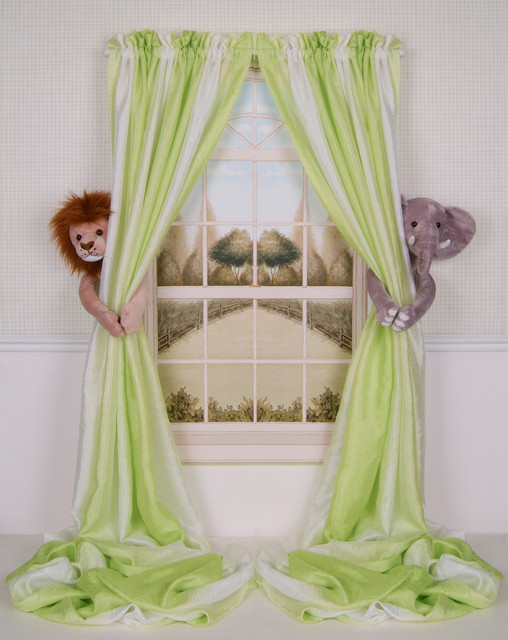 Safari Curtains For Nursery Thenurseries
