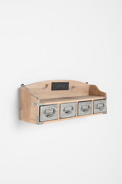 UrbanOutfitters.com > Vintage Wood Locker Wall Shelf display-and-wall-shelves