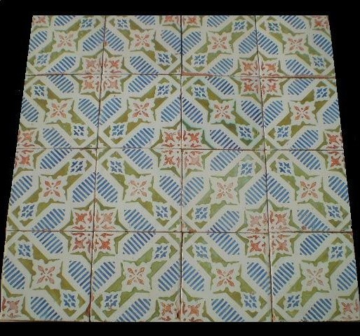 LUXURYSTYLE.ES HIGH-AND LUXURY ANTIQUE DESIGN HAND PAINTED FLOOR or WALL TILES traditional