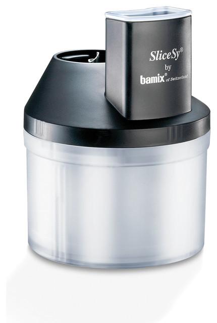 Bamix Professional SliceSy Attachment - White modern-small-kitchen-appliances
