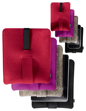 Felt iPhone Sleeve traditional-home-electronics