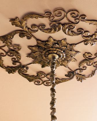 Ceiling Medallion traditional-ceiling-lighting