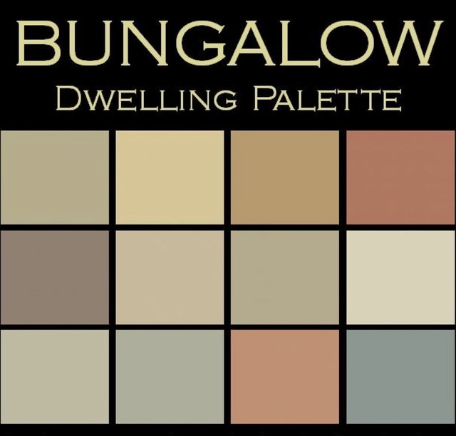 Color in Space Bungalow Palette™ --organic & calm transitional