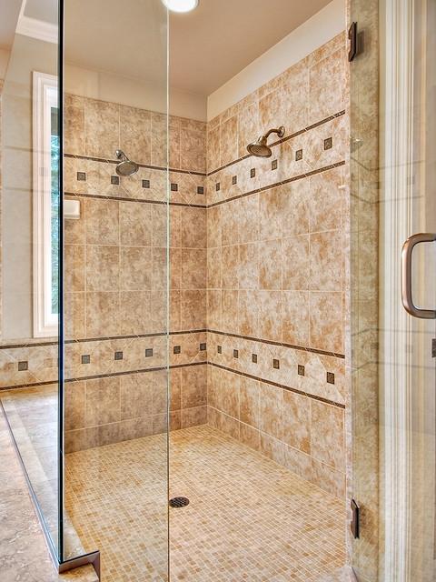 Master Bath Shower Enclosure traditional-bathroom
