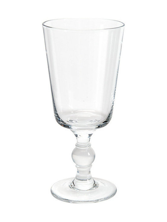 Ballard Designs - Set of 4 St. Tropez Glassware - Water Goblet - Great for everyday or special occasions. Coordinates with the Wine Goblet, Tumbler & Low Tumbler. We designed the classic shape of our St. Tropez Water Goblet to mix and match with any dishware and varietal stemware. Handmade of nicely weighted glass with a turned stem and thick, durable bowl.St. Tropez Glassware features:. .