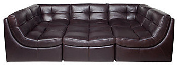 Cloud Modular Sectional Chocolate Modern Sectional