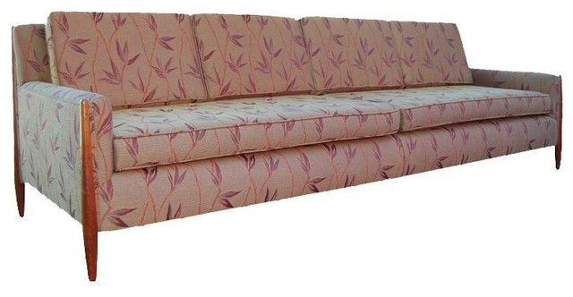 Pre owned Vintage Paul McCobb Style Sofa Farmhouse Sofas by Chairish