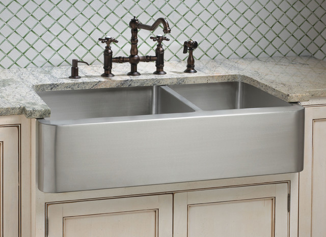Barn Style Sink : Fresh Farmhouse Sinks - Farmhouse - Kitchen Sinks - cincinnati - by ...