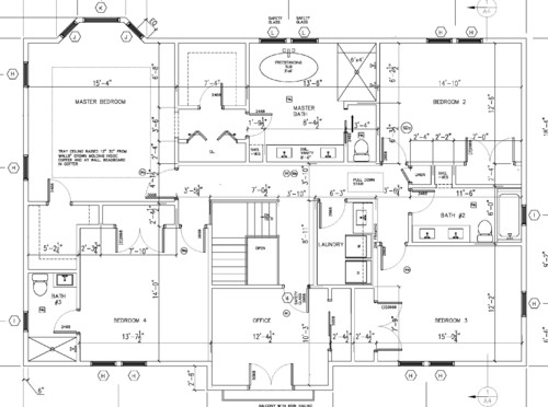 Rear Or Front Master Suite Please Help Decide