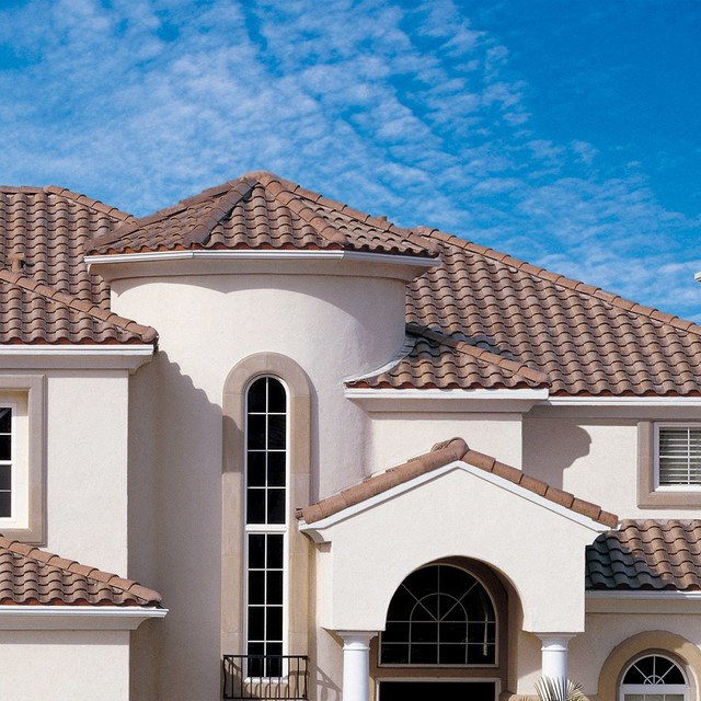 Mediterranean and spanish style architecture for Mediterranean roof styles