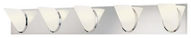 Angle 5-Light Bath Bar modern-bathroom-vanity-lighting