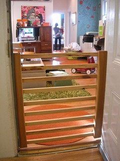 Custom, elegant wooden baby gate - Eclectic - Baby And Kids - san francisco