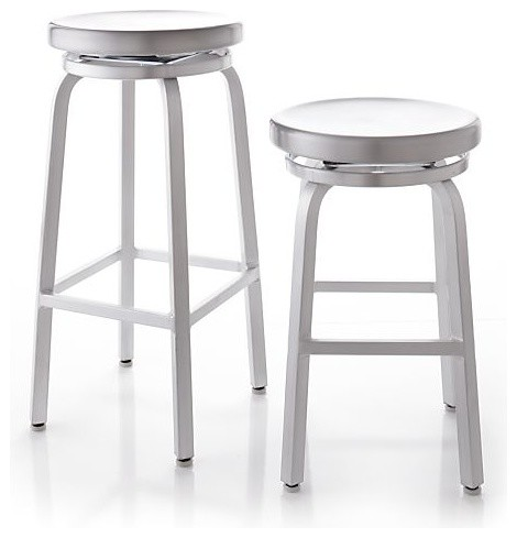 Crate & Barrel - Industrial - Bar Stools And Counter Stools - by Crate
