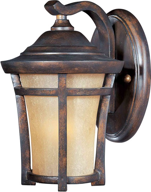 Maxim Lighting 40162GFCO Balboa VX Copper Oxide Outdoor Wall Sconce craftsman-outdoor-wall-lights-and-sconces