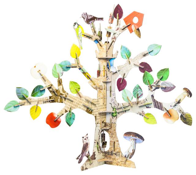 Totem Tree Cardboard Toy contemporary-kids-toys
