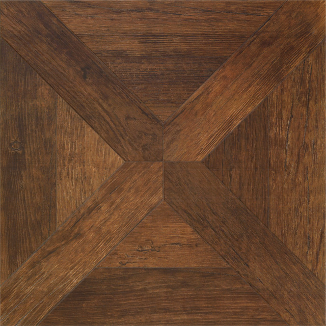 Vintage Parquet Wood Look Tile Flooring Traditional San Francisco