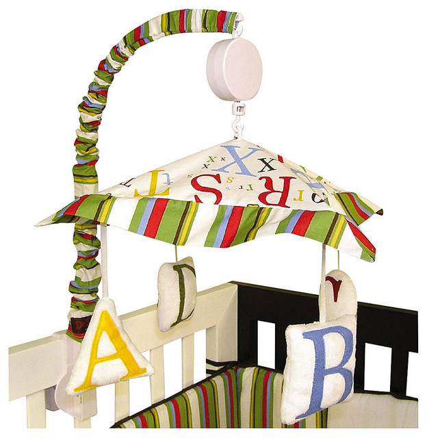 Trend Lab Dr. Seuss ABC Musical Mobile contemporary-baby-mobiles