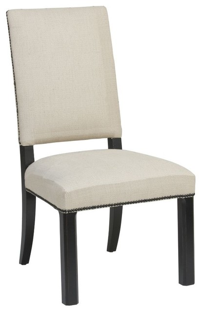 Hadley Side Chair Parson Leg traditional-living-room-chairs