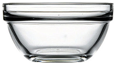 1.5H x 3.5T x 1.75B 4.25 oz Stack Bowl 24 Ct contemporary-bowls