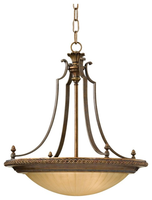 """Traditional Kelham Hall Collection 25"""" Wide Pendant Light traditional-pendant-lighting"""