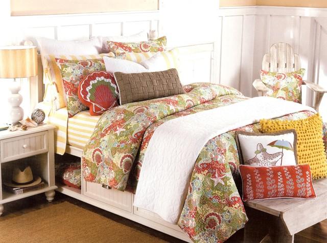 Seashell Quilt Set ~ Coastal Bedding
