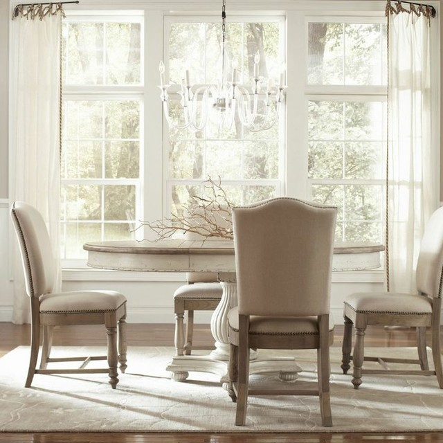 coventry round oval dining room set riverside transitional dining