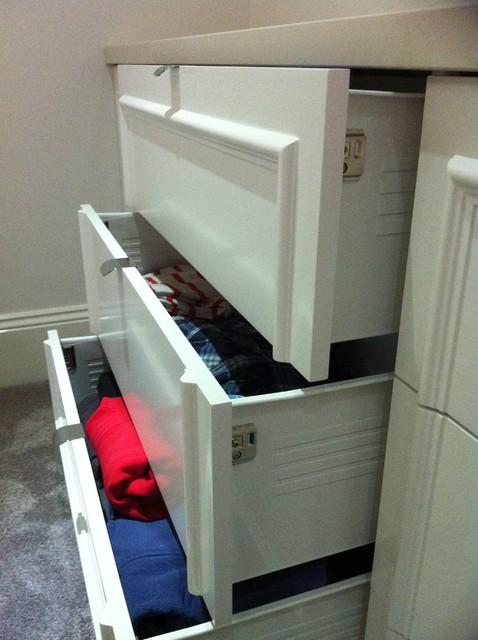Bedroom Cabinets built in - Modern - melbourne - by One Board Pty Ltd