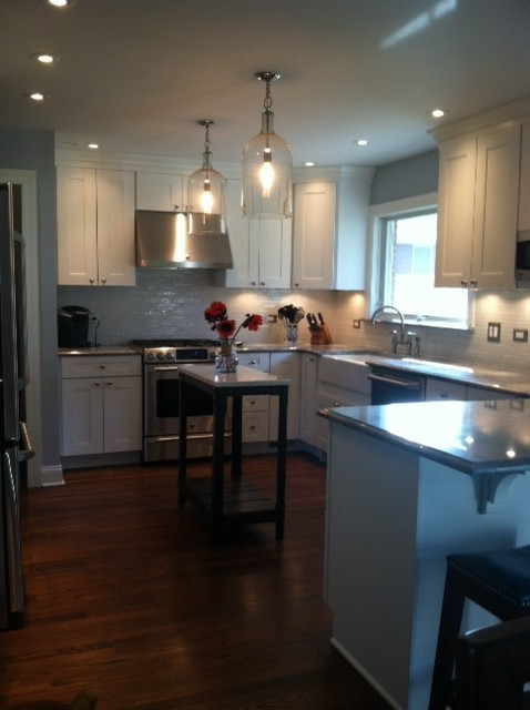 Split Level Kitchen Remodel